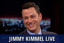 Jimmy Kimmel Live / Every weeknight, fans tune in for hilarious pranks, great celebrity guests, and outstanding concerts on Jimmy Kimmel Live. Jimmy Kimmel hosts the show, which features the on-the-street segment Lie Witness News, a roundup of This Week in Unnecessary Censorship, and the misadventures of Jimmy Kimmel's relatives or the security guard, Guillermo. Jimmy Kimmel also gets viewers involved through a YouTube challenge or via Skype interviews and competitions. Just don't bring up Matt Damon or Kanye West. / by RECAPO