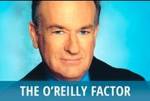 The O'Reilly Factor / Bill O'Reilly is the longtime host of the popular Fox News primetime program The O'Reilly Factor. He is never one to shy away from controversy, and he calls out anyone he thinks is not living up to their promises. Some of The O'Reilly Factor's most popular segments include Talking Points, the Tip of the Day, and confrontational interviews with people who are in the headlines, or in Bill O'Reilly's crosshairs. He encourages his viewers to keep it pithy when voicing their own opinions in response. / by RECAPO