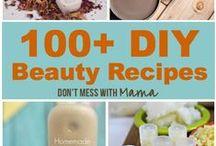 BEAUTY-Bath &  Face Scrubs / Essential Oils / by Peggy Sue DIY