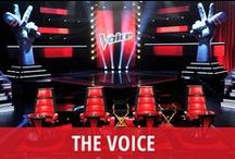 The Voice / The Voice is NBC's hit reality music competition, featuring a panel of fan favorite judges who mentor teams of contestants through grueling weekly contests. Adam Levine and Blake Shelton are the show's popular, reliable judges, and Carson Daly hosts. Christina Aguilera and Cee Lo Green are part of the show each fall. Shakira & Usher take on judging duties in the spring. Who are you rooting for on this season of The Voice? Repin your favorites and share the best performances with your followers. / by RECAPO