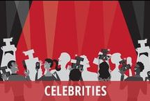 Celebrities / If you love keeping up with your favorite stars from the worlds of TV, music, and movies, this is the Pinterest board you must follow! Celebrities are often making big announcements or revealing personal secrets on daytime TV talk shows. Guests on The Ellen DeGeneres Show or Live! with Kelly & Michael will open up about what is going on in their personal lives, and you don't want to miss it. See what else they say on Today, GMA, and other favorite shows. Never miss the latest celebrity gossip! / by RECAPO