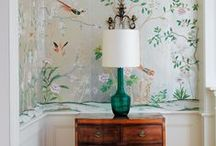 Wallpaper / by My Interior Life/ K Interiors