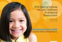 2014 National Institute for Early Childhood Professional Development / Join us June 8-11 in Minneapolis, MN