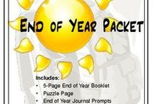 End of Year Ideas / by Jennifer Ricks