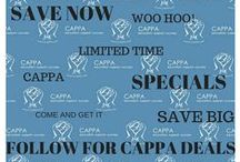 follow for CAPPA's Deals! / For CAPPA's daily clearance OR limited time specials on courses, products and membership...stay tuned here!
