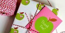 Inpakken / clever ways for gift wrapping ~ ideetjes om geschenken en cadeaus creatief in te pakken - inpakideeën