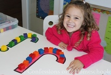 Home School ideas for 3 - 5 year olds / by Terry Yaceyko