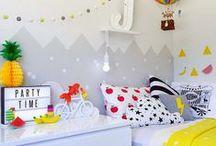 Home: Children's spaces ~ kinderkamers / inspiratie voor de kinderkamers van mijn zoon en dochter