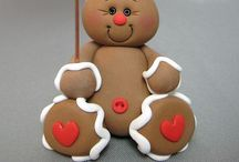 ❤ Gingerbread men ❤ / I love Christmas ... Gingerbread men are one of my favourites