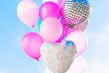 Things To Do With Balloons / balloons, balloon projects, easy DIY balloons, party balloons, holiday balloons