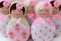 ♥ Babushka Dolls ❤️ / by Lydias Treasures - Lisa