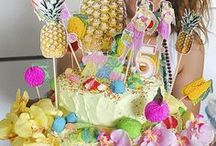 CAKES / Every year before my daughter's birthday I love looking at cakes with her.... Then we try and make it....