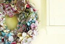 Home: Front Door ~ Voordeur / Ideas to decorate our new fancy front door ;)