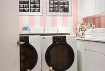 Home: Laundry Room ~ Wasplaats / For when we finally redo our laundry room. Ideas and looks I love.