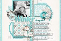 Scrapbooking: My Layouts / Digital scrapbook layouts made by me.