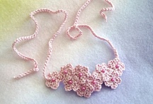 Crochet: Headbands & Jewellery / crochet patterns and inspiration for head bands and jewelry