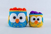 Crochet: Home Decor / crochet patterns and inspiration for home decor objects
