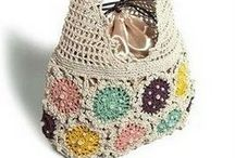 Crochet: Bags / crochet patterns and inspiration for bags