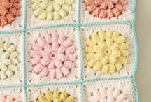 Crochet: Granny Squares and not so squares / It's all about the colors really!