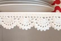 Crochet: Edging / crochet patterns and inspiration for edging