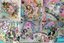 Laces, Fabrics, Blocks & Crazy Quilts