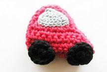 ❤ Crochet- Knitted Motifs ❤ / Many patterns for crochet motifs or crochet appliqué