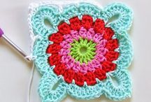 ❤️ Crochet Squares ❤️ / Many patterns for crochet squares. Perfect for a blanket / by Lydias Treasures - Lisa