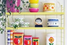 Home: I ♥ retro / retro and vintage decor items and inspiration. Oh, and color! Lots of color!