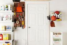 Home: Garage / Inspiration for organizing the garage