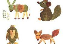 Crafts for school / knutselideetjes voor school