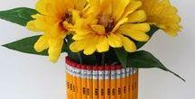 Cadeautje voor juf of meester / ideeen voor bedankjes voor de juf of meester op het einde van het schooljaar.