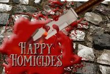 Happy Homicides Anthology / A board dedicated to authors and inspiration behind the Happy Homicides Cozy Anthology, a collection of traditional mysteries to celebrate the holidays, written by bestselling and award-winning authors.