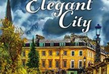 Book #4: Death in an Elegant City / Research trip and inspiration for Book 4 in the Murder on Location series, Death in an Elegant City, which takes place in Bath, UK.