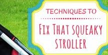 Stroller Tips / Tips on how to choose the best stroller for your situation and how to maintain your stroller. Stroller care | Stroller maintenance | Stroller cleaning | Stroller brands | Cleaning and comparisons | Dual strollers | Double strollers | Narrow strollers | Stroller accessories