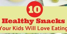 Fun Kid Snack Ideas / Snack ideas for your kids, including sweet, savory and healthy options. Child diet | Children snacks | DIY snacks | Fun snack ideas | Healthy kid options | Food for children | Cookie decorating | Lunchboxes | Snack bags for kids | Creative food ideas | Animal shaped foods | Play with your food | Food for picky eaters | School snacks | School lunches | Road trip treats | Finger foods