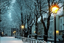 """SNOW time / """"Every snowflake is a kiss on your sweet cold nose."""" / by ♥ Mary Vanderhoof Ambrose ♥"""