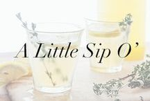 A Little Sip O' - Cocktail Inspiration