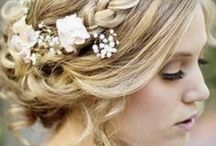 Wedding Inspiration / Beautiful hair, makeup and style ideas for the bride-to-be