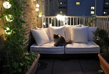 Small Balcony Ideas / by Lynda McLean