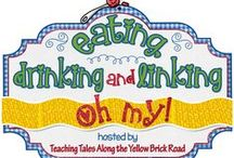 "Eating, Drinking, and Linking...Oh My! / Pins from all of posts linked up to my summer recipe linky ""Eating, Drinking, and Linking...Oh My!""  / by Teaching Tales Along the Yellow Brick Road"