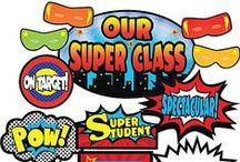 THEME - Superhero / Teacher Created Resources' (TCR) Superhero Theme