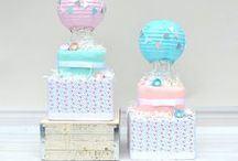 up & away baby shower / up & away theme baby shower ideas