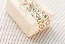 Envolver regalos / by Sandra Miethke
