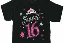Sweet Sixteen / Searching for the perfect sweet sixteen gift is often quite tricky to do. You want to find the birthday girl something she will appreciate and love. And sometimes it's hard finding that perfect sweet sixteen present that doesn't cost a fortune. Check out the gift ideas for a sweet 16th birthday below for some cool suggestions. / by Gift Ideas
