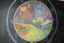 Het jaar rond / De winter is een ets, de lente een aquarel, de zomer een olieverfschilderij en de herfst een mozaïek van hen allen / by Marga Timmers