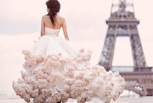 Inspirational Wedding & Bridal Fashion / An assortment of Fashion that helps to inspire creativity with its layering, ruffles, silky textures & flowing movement... here at Wedding Flowers by Julia rose.