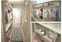 Organization Ideas / Keeping kids' rooms, playrooms, mudrooms, bedrooms (and the rest of the house!) organized. Plus useful tips for staying organized in every other way, too!