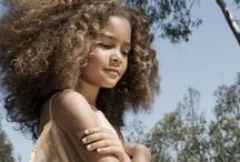 Mixed Beauties / beautiful multi-racial beauties and amazing hair