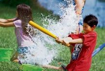 Summer Fun / Activities your kids can do to stay cool, beat boredom, and be active in the summer months.