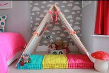 Cool Kids' Rooms / Fun, decorative ideas for your active kids' bedrooms and playrooms.
